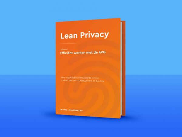 Boek Lean Privacy, efficient werken met de AVG